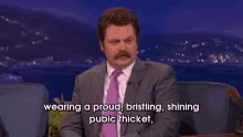Watch Nick Offerman 1 GIF on Gfycat. Discover more related GIFs on Gfycat