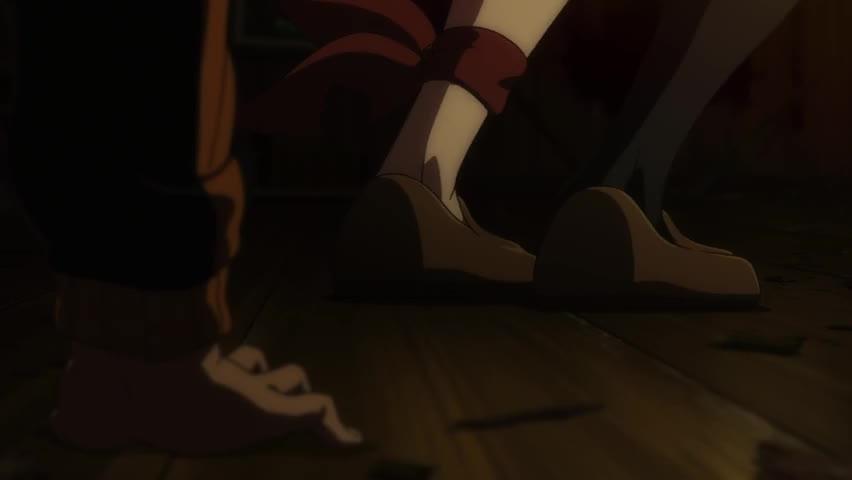 anime, re zero, sakuga, Felt attacks GIFs