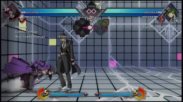 Watch and share BBTag: Gordeau/Ragna Combo GIFs by snuffychris605 on Gfycat