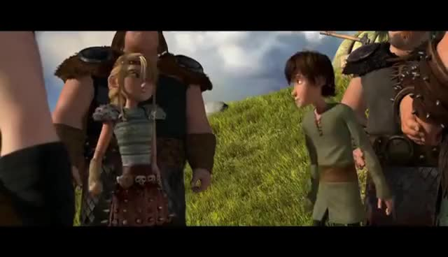 httyd, hiccupxastrid kiss GIFs