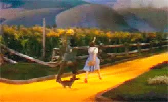 Watch and share Yellow Brick Road GIFs and Dorothy Dale GIFs on Gfycat