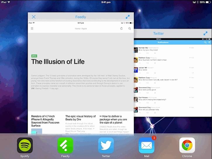 iOS 7 Jailbreak GIFs