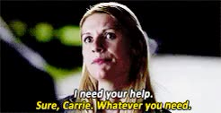 Watch and share Carrie Mathison GIFs and Carrie X Quinn GIFs on Gfycat