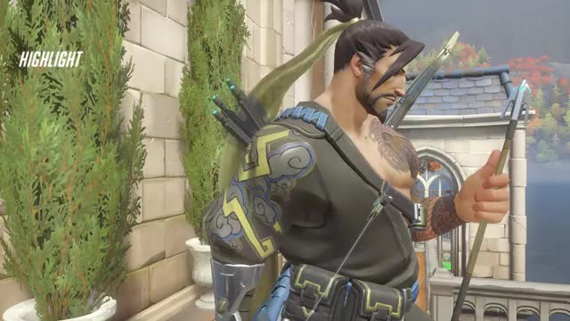 Watch and share Overwatch GIFs and Hanzo GIFs by philomentus on Gfycat