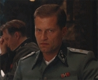 angry, inglourious basterds, mad, til schweiger,  GIFs