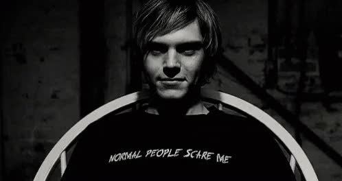 Watch and share Evan Peters GIFs on Gfycat