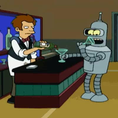 Watch and share Bender Alcohol GIFs on Gfycat