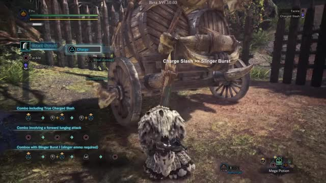 Watch and share Great Sword GIFs and Iceborne GIFs by Ethu Inc on Gfycat