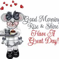 Watch and share G'MORNING-RISE AND SHINE GIFs on Gfycat