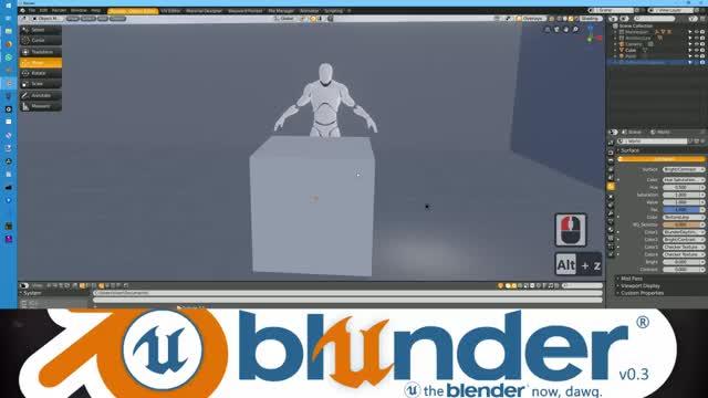 Blunder v0.3 Wayward Painter Preview