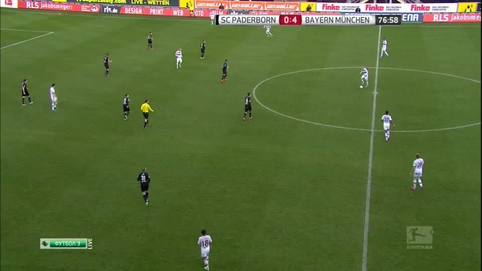 fcbayern, soccer, Mitchell Weiser scores his first goal for Bayern with a nice lob (reddit) GIFs