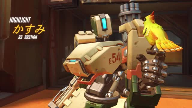 Watch and share Overwatch GIFs and Bastion GIFs by Method on Gfycat