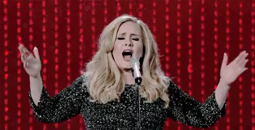 Watch this adele GIF on Gfycat. Discover more adele, adeleedit, by veronica, gif, music, oscars, performances, skyfall GIFs on Gfycat