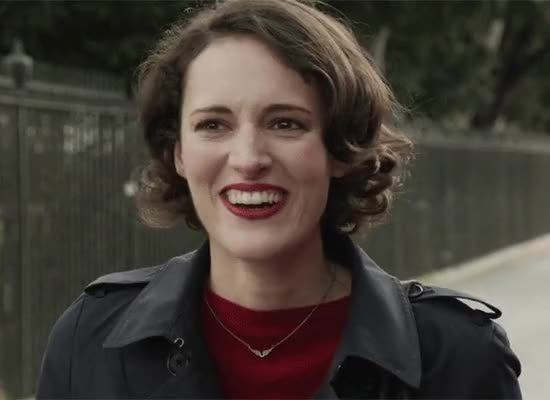 Watch and share Phoebe Waller Bridge GIFs and Uh Oh GIFs by Ricky Bobby on Gfycat