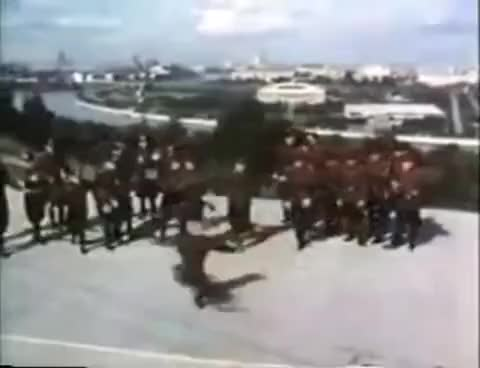 Watch and share Soviet Army Dancing To Hard Bass GIFs on Gfycat