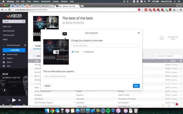 Watch and share Deezer Playlist Importing GIFs on Gfycat