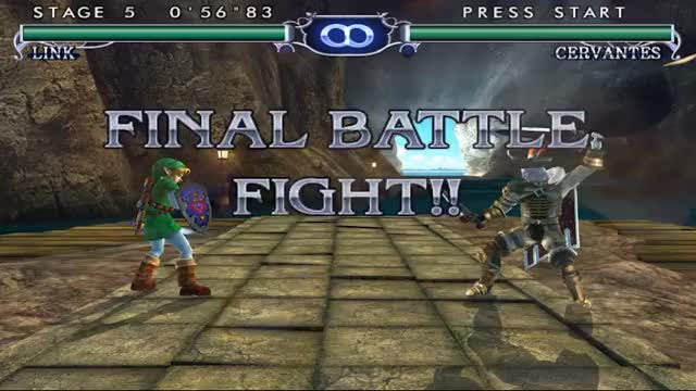 Watch Soul Calibur 2 - Gamecube - Link GIF by Haikuwoot (@eoner321) on Gfycat. Discover more gaminggifs GIFs on Gfycat