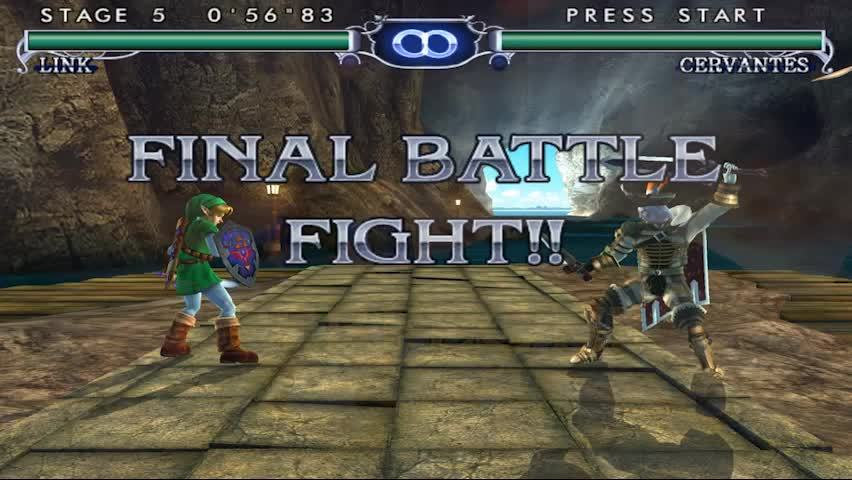 gaminggifs, Soul Calibur 2 - Gamecube - Link GIFs