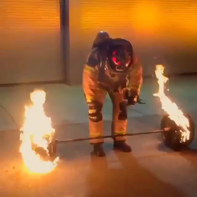 Watch and share Firefighter GIFs and Working Out GIFs by Slim Jones on Gfycat