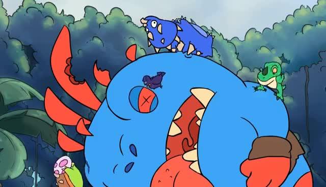 UN'GORO TRIP ( Hearthstone cartoon ) GIFs