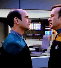 Watch and share Star Trek Voyager GIFs and Reginald Barclay GIFs on Gfycat