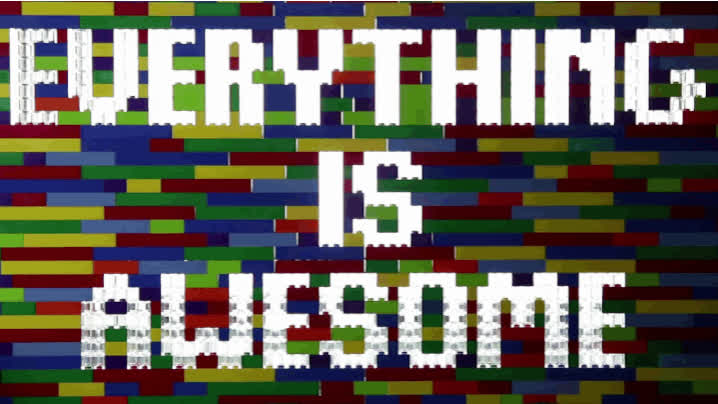 animation, awesome, legos, lettering, Everything is Awesome GIFs