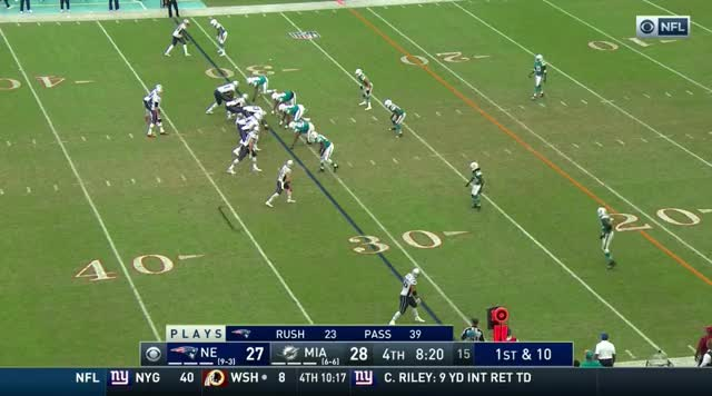 Watch and share 35 Brady With A Dart To Gronk For A 1st Down GIFs on Gfycat