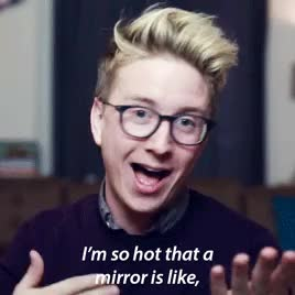 Watch and share Tyler Oakley GIFs and New Video GIFs on Gfycat