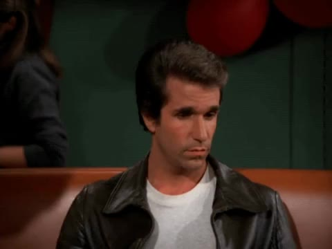 Watch this fonzie GIF by MikeyMo (@mikeymo) on Gfycat. Discover more annoyed, fonzie, happy days, henry winkler, stare GIFs on Gfycat