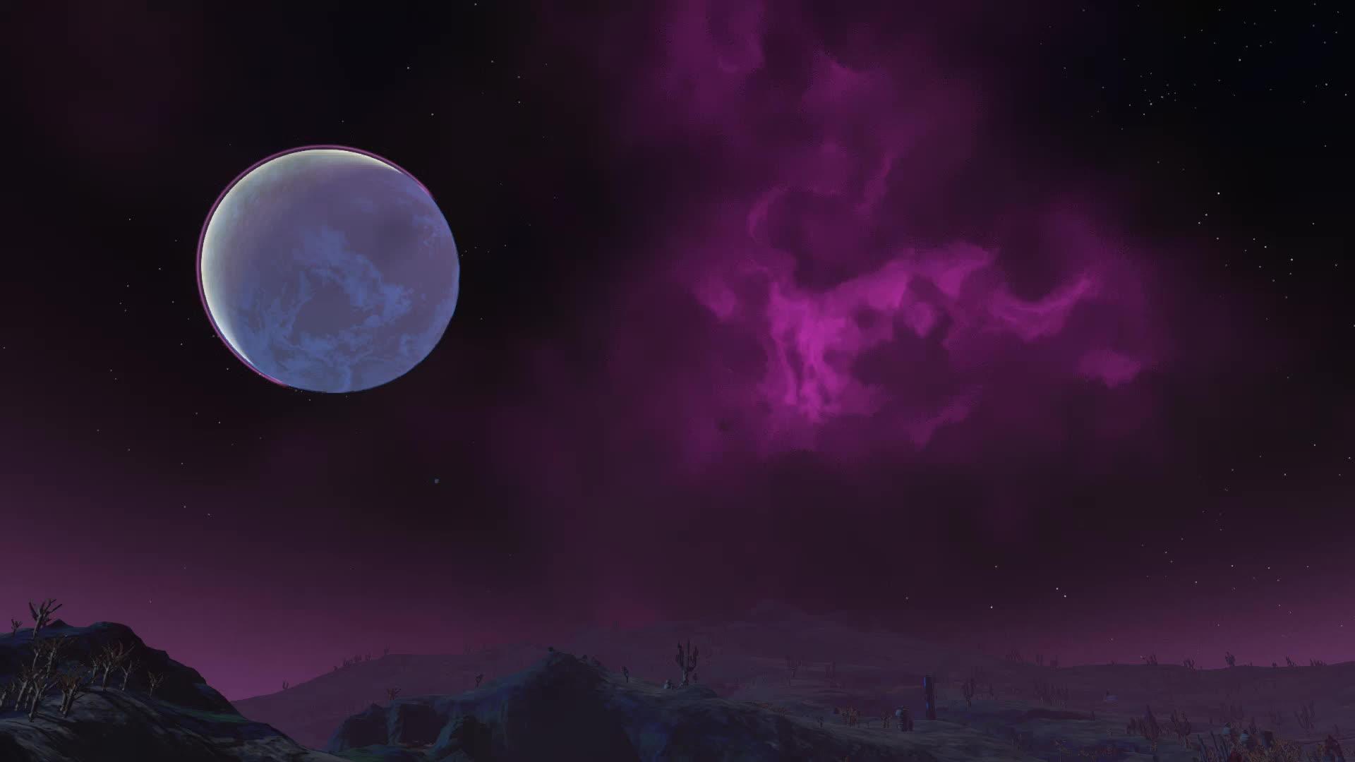 nebula, no man's sky, nomanshigh, Nebula in No Man's Sky GIFs