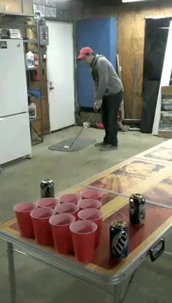 Watch and share This Guy Must Play A Lot Of Mini Golf. | Rebrn.com GIFs on Gfycat