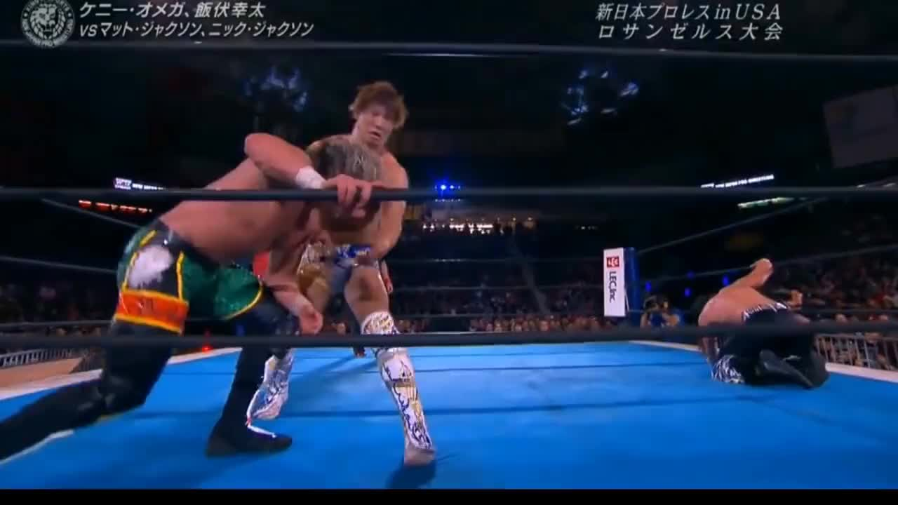 NJPW, Golden Lovers And Young Bucks EntranceAndEndingMatch GIFs