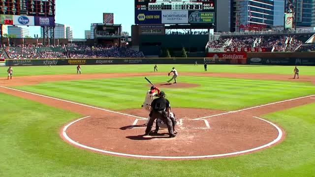 Watch and share Baseball GIFs and Atlanta GIFs by handlit33 on Gfycat