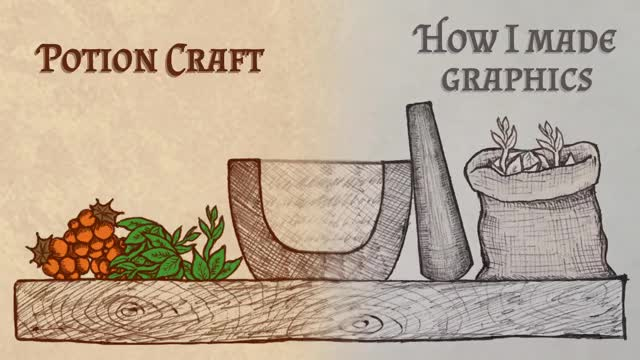 Watch Potion Craft – How I Made Graphics GIF by danmerey (@danmerey) on Gfycat. Discover more gamedev, indie, indie game devlog, indiedev, niceplay, niceplay games, potion craft, potion scrolls GIFs on Gfycat
