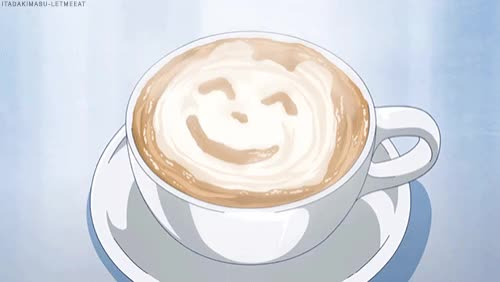 Watch and share Smiley Cappuccino GIFs by X5AN on Gfycat