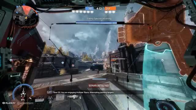 Watch and share Salvo Core Titan Triple Kill GIFs on Gfycat