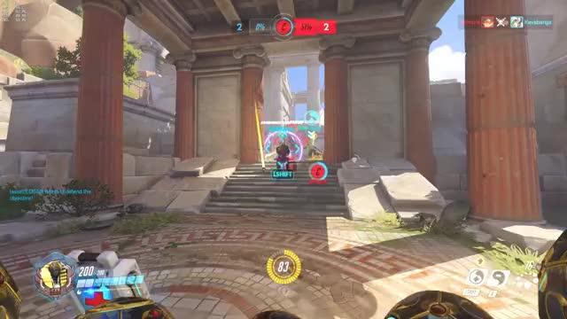 Overwatch zenyatta play of the game video