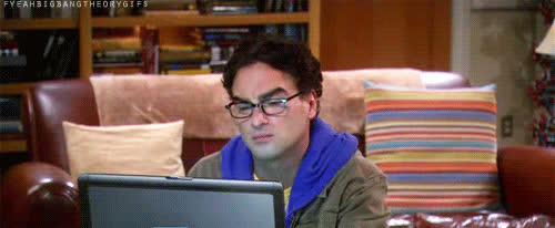 johnny galecki, smile,  GIFs