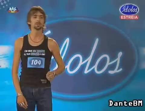 Watch and share Idolos 2009 - Chico Fininho (João Pedro) GIFs on Gfycat