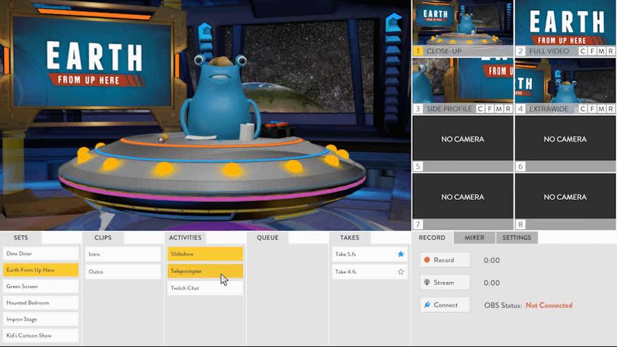 cartoons, videoediting, virtualreality, Flipside - Teleprompter settings GIFs