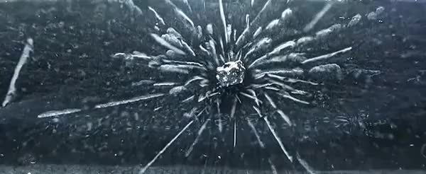 Watch and share Uranium Placed In A Cloud Chamber [OC] (reddit) GIFs on Gfycat