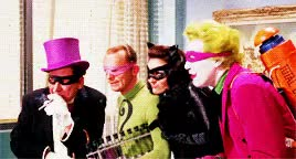Watch and share Batman 1966 Movie GIFs and Burgess Meredith GIFs on Gfycat