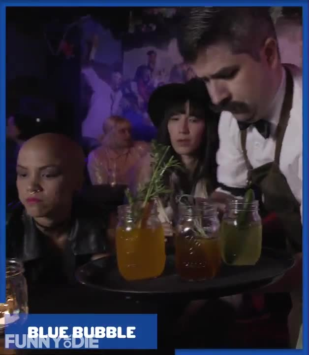 FoD, Funny or Die, FunnyorDie, What Your Political Bubble Looks Like From The Other Side, odd drinks GIFs