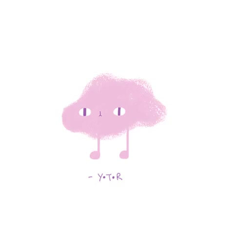 Watch Yoyo the Rice-corpse GIF on Gfycat. Discover more :3, Illustration, Y.T.R, Yoyo The Ricecorpse, animation, artist on tumblr, blobs, colourful, cute, digital, doodle, fantasy, gif, kawaii, loop, pastel GIFs on Gfycat