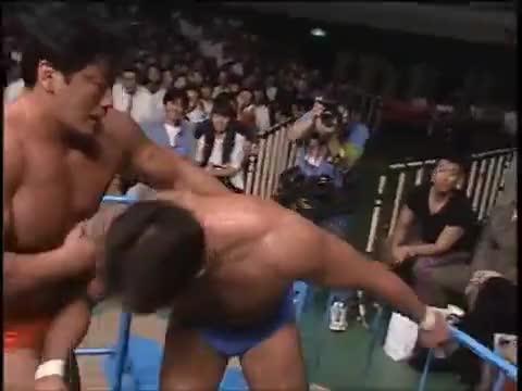 Watch and share Jun Akiyama Vs Kenta Kobashi (July 24, 1998) GIFs by juanpersona on Gfycat