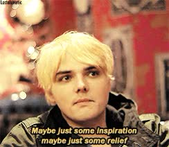 Watch and share My Chemical Romance GIFs and Gerard Way GIFs by Reactions on Gfycat