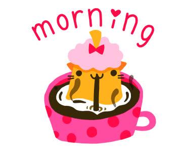 cindy suen, coffee, good morning, morning, Good Morning GIFs