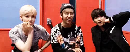 Watch and share Yoo Youngjae GIFs and Daehyun GIFs on Gfycat
