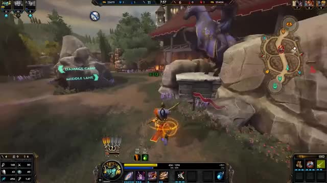 Watch and share Smite GIFs by manq0 on Gfycat