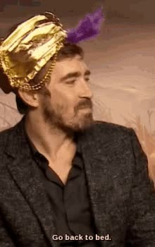 Watch and share Leepace Go Back To Bed GIFs on Gfycat